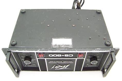Power Lifier Peavey Cs 800 for parts or repair peavey cs 800 commerical series power