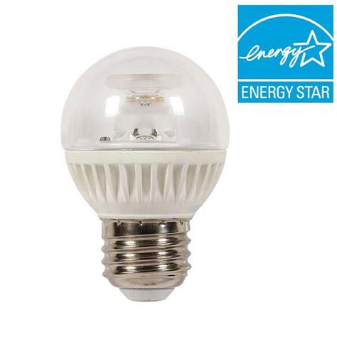 Led Light Bulb For Home Westinghouse 60w Equivalent Soft White Globe G16 5 Dimmable Led Light Bulb 0312900 The Home Depot