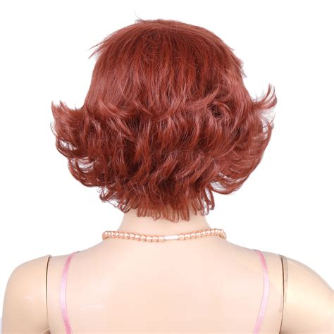 bang human hair pieces for hair thinning at temples short curly wig side bangs thin women human hair hairpiece