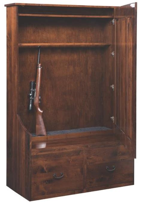 amish hall tree storage bench amish hall tree bench with hidden gun storage