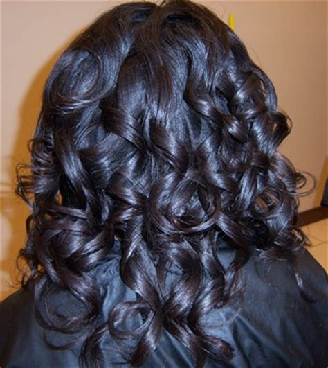 roller set relaxed hair salon balisi gallery clients of salon balisi