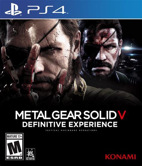 Kaset Ps4 Metal Gear Solid V The Definitive Experience with metal gear solid v definitive experience on photoshop metalgearsolid