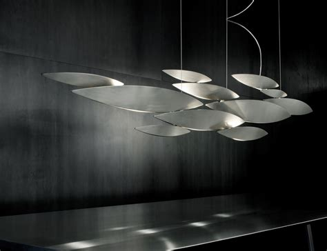 Pendant Light Design Nella Vetrina Terzani I Lucci Argentati N83s M2 C8 Designer Suspension Light