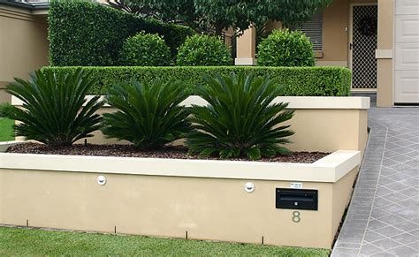 Retaining Walls Melbourne Landscaping Front Garden Retaining Walls