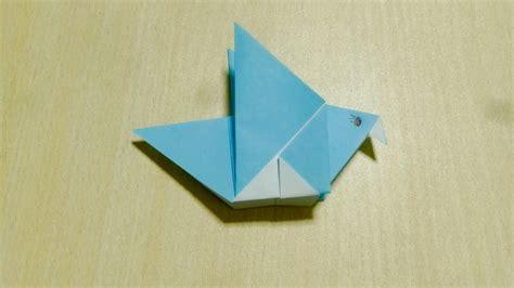 Origami L - comment faire oiseau origami l de plier le papier
