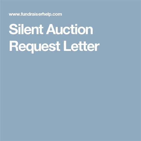 charity auction request letter 25 best ideas about silent auction on auction