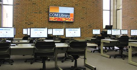 design lab hours library computer lab