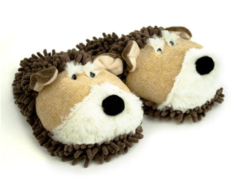 dog house shoes fuzzy dog slippers dog slippers
