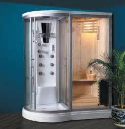 combination steam shower sauna i want this