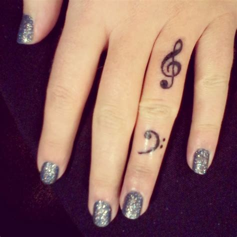 finger tattoo music note 22 attractive music note tattoos on finger