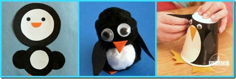 Penguin Craft Based On 365 Penguins Jdaniel4s - penguin awareness day 30 penguin crafts and activities