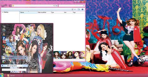 snsd girls generation theme for windows 7 download my kpop fanatik snsd i got a boy window 7 theme