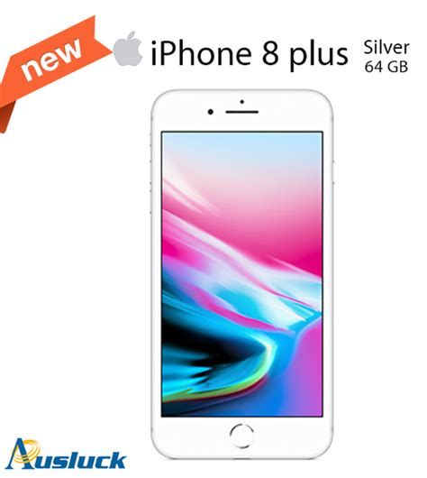 apple iphone 8 plus 64gb silver unlocked brand new mq8e2x a quot ausluck quot 190198626387 ebay