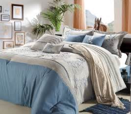blue bedding modern luxury bedroom decorating ideas that is emitted
