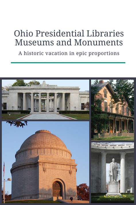 presidential libraries and museums books ohio s presidential libraries and museums a historic