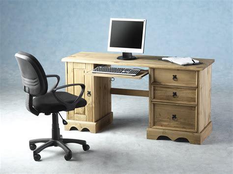 Corona Computer Desk Corona Wooden Computer Desk In Distressed Waxed Pine 1878 Fu