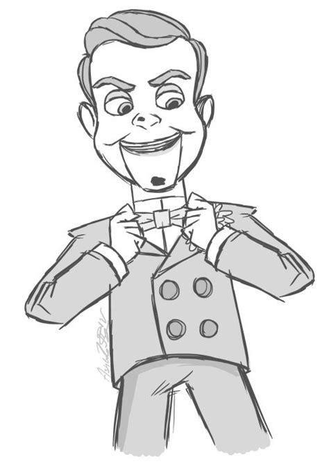 25 Best Ideas About Slappy The Dummy On Pinterest Book Goosebumps Coloring Pages