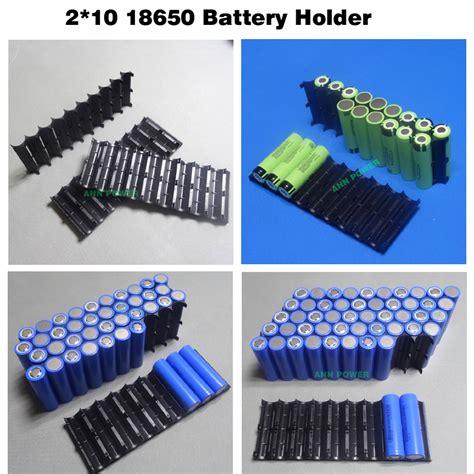Plastic Battery Holder 18650 18650 Battery Holder Cylindrical Cell 2 10 Plastic Holder