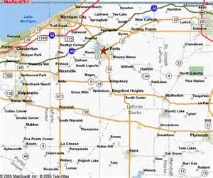 laporte map la porte county indiana county maps