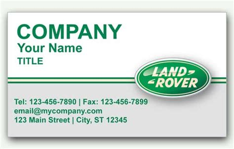 Rover Business Cards