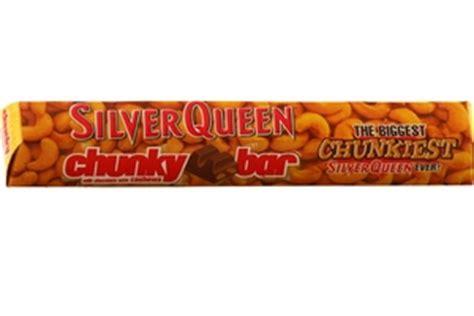 Silverqueen Chunky Bar 33gr silver chocolate bar chunky milk chocolate with