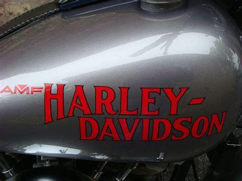Stiker Harley Davidson Line 30 Cm harley davidson vintage decals 1908 through 1980 s hopson classic motorcycle exchange
