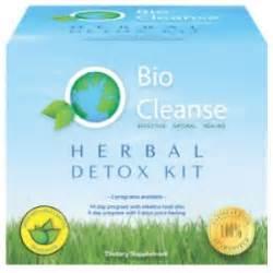 Bio Cleanse Herbal Detox Kit by Organic Detox Kit