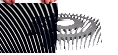 How To Make An Optical Illusion On Paper - trippy diy animations use these printable templates to