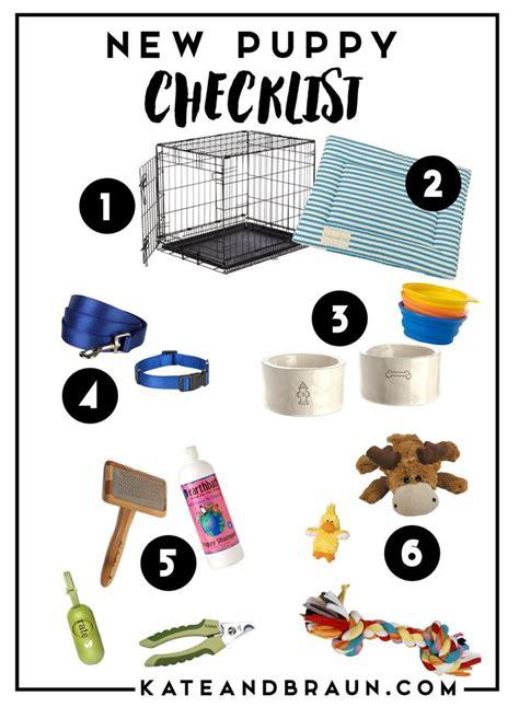 puppy list 10 best ideas about new puppy checklist on new puppy puppies