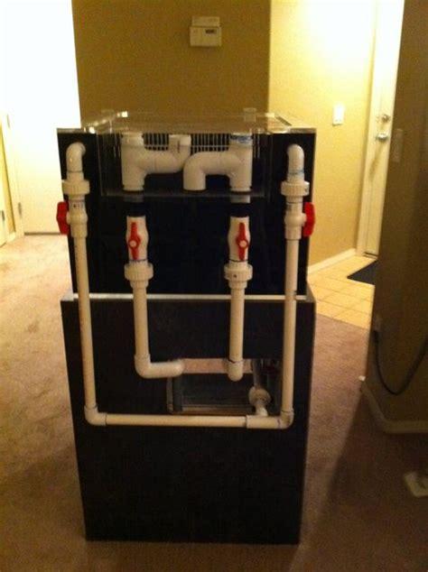 aquarium drain design how to set up a saltwater reef aquarium tank reefedition