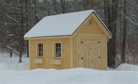 vermont sheds and barns custom built on site custom sheds