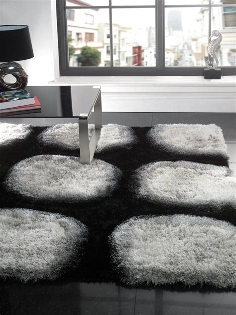 Black And White Modern Rugs Interior Black And White Rug For Minimalist Home Design Luxury Busla Home Decorating Ideas