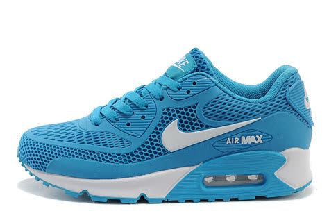 blue nike womens running shoes nike air max 90 running shoes sky blue white