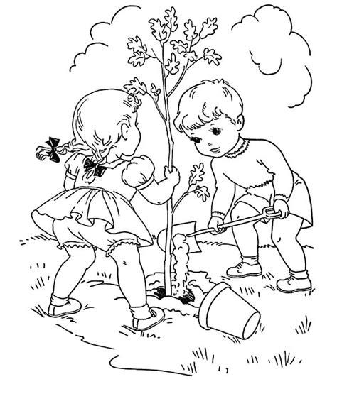 Desenhos Para Colorir Dia Da 193 Rvore O Tree Coloring Page