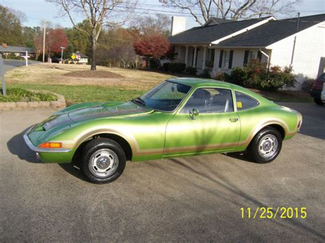 1973 Opel Gt For Sale by 1973 Opel Gt For Sale Photos Technical