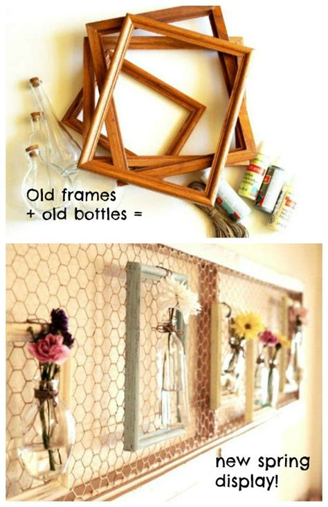 think outside the frames frameless photo display ideas 110 best chicken wire crafts images on pinterest mesh