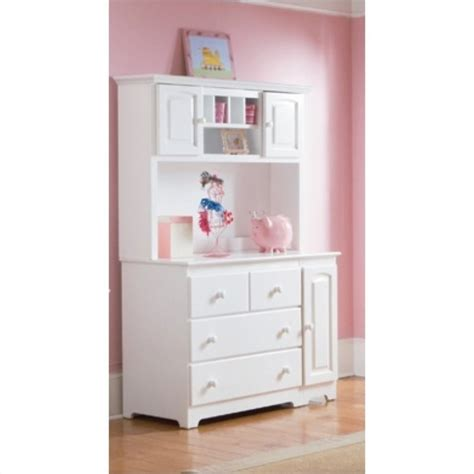 Changing Table Hutch Atlantic Furniture Changing Table And Hutch In White 69142 69812 Kit