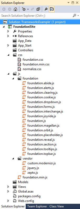 mvc layout page javascript create asp net mvc websites css ui kits frameworks