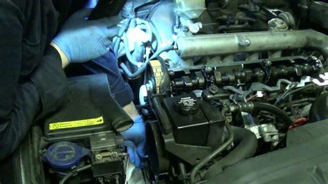 dt timing belt change part  main timing belt installation volvo     tdi