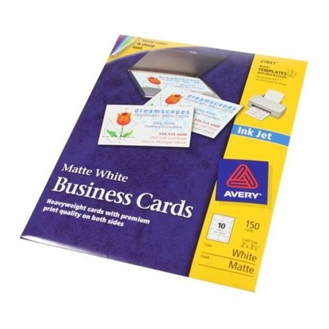 staples inkjet business cards template free avery 8731 word template developerstwin