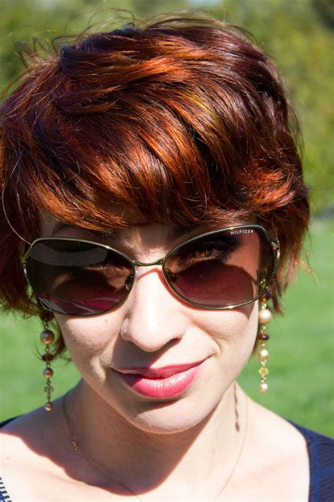 loreal hicolor copper red on dark hair my hair using l oreal hicolor in red fire on my naturally