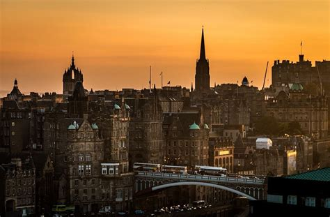 Sleeper Bristol To Edinburgh by Through The Streets Of Edinburgh You Could Travel
