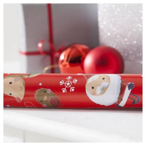 buy tesco chilli wrap 6m extra wide christmas wrapping
