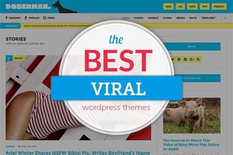 themes wordpress viral 20 viral wordpress themes for 2018