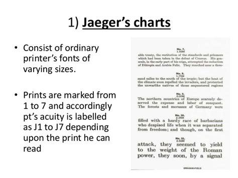 printable jaeger j1 eye chart jaeger chart ophthalmology pinterest