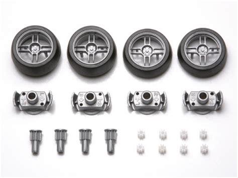Tamiya Wheel Set Large Dia Low Profile Tire tamiya mini 4wd tires sets
