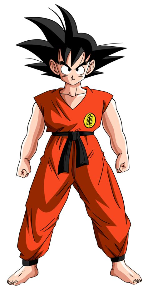 imagenes de goku adolescente dragon ball son goku teen by krizeii on deviantart