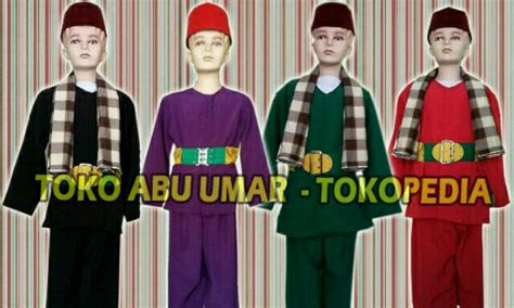 Baju Silat Betawi jual baju betawi anak abu umar al bekasi