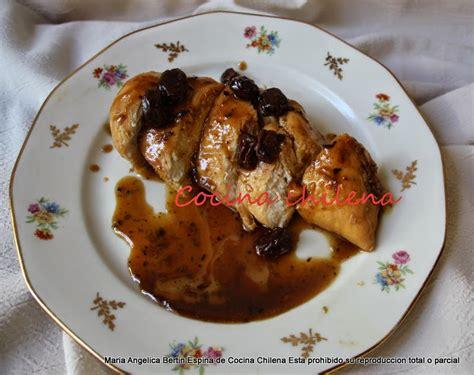 cocina chilena facil y economica pollo al vino con pasas cocina chilena