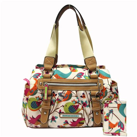 lily bloom triple section satchel lily bloom women s triple section satchel tweety twigs